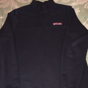Vineyard Vines navy blue 1/4 zip pullover